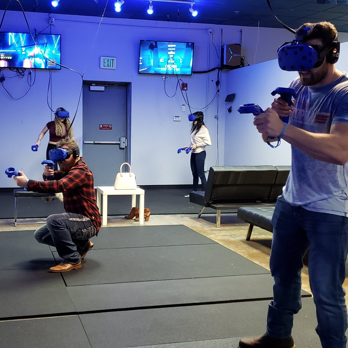 Playing Zino VR Game